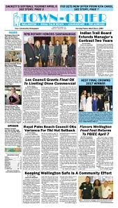 town crier newspaper march 24 2017 by wellington the magazine llc