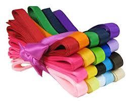 hair ribbons hipgirl 40 yards 3 8 grosgrain fabric ribbon set for