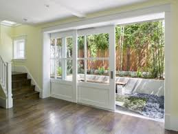 Patio Doors Wooden Sliding Door Great Ideas 3 Doors Astonishing Sliding