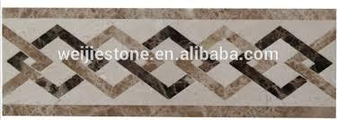 marble water jet floor border tile design buy marble floor