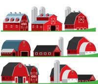 A Cartoon Barn Cartoon Iowa Stock Photos Freeimages Com