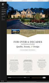 responsive web design for philadelphia home builder guidi push10 responsive website interface design for philadelphia area home builder