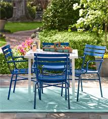 Metal Garden Chairs And Table Metal Deck Furniture Set Outdoor Furniture Plow U0026 Hearth