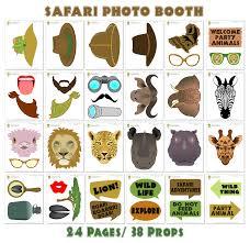 printable hippie photo booth props printable safari photo booth props safari photo props safari