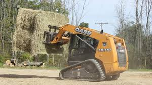 compact track loader helps penn dale farms case construction
