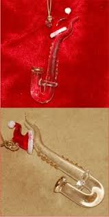 french horn with gold family christmas ornament french horn