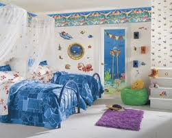 decorate a small bedroom with two beds interior design inspirations bedroom cute kid bedroom designs with sea themes and decoration with double blue bed and white