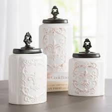 fleur de lis kitchen canisters fleur de lis kitchen canisters wayfair