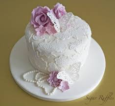 butterfly lace wedding cake 4 tier wedding cakes lytham st annes