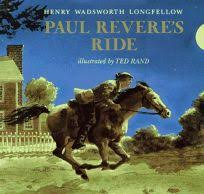 paul revere s ride book children s book review paul revere s ride by henry wadsworth