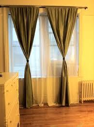 how to tie curtains calm original brian patrick flynn door knob drapery tiebacks