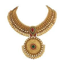 gold antique necklace sets images Gold antique necklace view specifications details of gold jpg