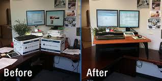 dual monitor stand up desk wonderful ergotron 24 316 026 workfit a dual monitor standing desk