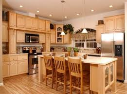 maple kitchen ideas kitchen room design top dark maple cabinets in casual kitchen