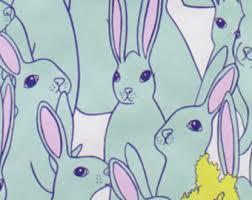 rabbit material rabbit etsy