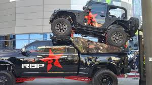 Wide Rims For Trucks Sema Show 2015 Rtxwheels