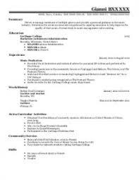 extracurricular resume template resume examples stage manager resume template theatrical