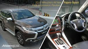 review interior mitsubishi all new pajero sport indonesia