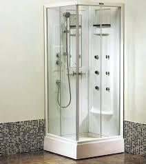 Bathroom Corner Showers Corner Shower Stalls For Small Bathrooms Corner Shower Stall Units