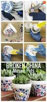 26 creative diy projects made with broken tile diy arts and crafts