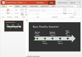 timeline smartart diagram template for powerpoint online