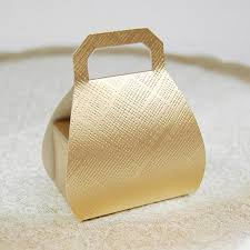 gold favor bags embossed favor bags with handles