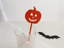 Halloween Cake Topper by Pumpkin Cake Topper Halloween Cake Toppers Pumpkin Stir Sticks