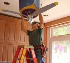 Plane Ceiling Fan Easy Installing Airplane Ceiling Fan Tips Home Interior Furniture