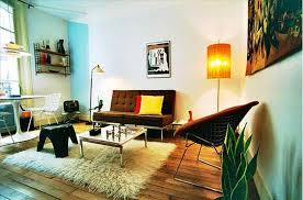 mid century modern living room with fireplace datenlabor info