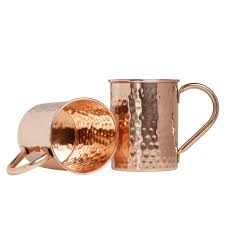 moscow mule mugs copper moscow mule mugs set of 2 classic style 16 ounce