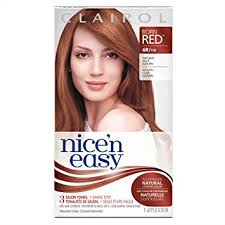 clairol nice n easy natural light auburn amazon com clairol nice n easy hair color 110 6r light auburn 1