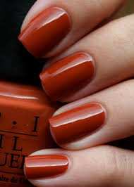 opi ginger bells i never have red nail polish ibm but this is so
