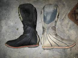 used youth motocross boots cleaning dirtbike boots with wd40 south bay riders