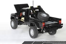 future toyota back to the future lego toyota 4x4 is amazing