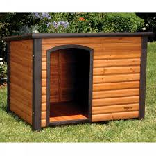 wood dog houses here u0027s a slanted roof wooden dog ho