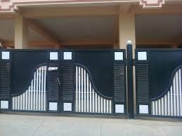 Modern Chic Home Decor Homes Iron Main Entrance Gate Designs Ideas Modern Home Designs11