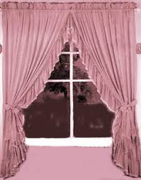 Priscilla Curtains With Attached Valance Criss Cross Curtains Home Design Ideas And Pictures