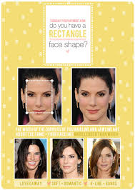 rectangle face shape hairstyles formal hairstyles for rectangle face hairstyles the right