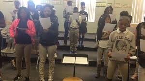 clayton high school yearbook clayton middle school 8th grade chorus solfege exercise in