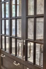 mirrored kitchen cabinet doors design ideas