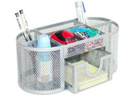 wire mesh desk organizer fis fsords096 metal mesh desk organizer silver