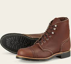 womens leather boots s 3365 iron ranger leather boot wing heritage europe