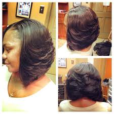 Sew In Bob Hairstyle Love This Bob My Next Sew In Bob Out Pinterest Bobs Hair