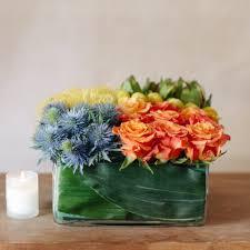 bento box of flowers
