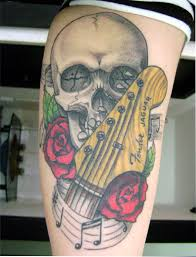 guitar tattoos and designs page 46