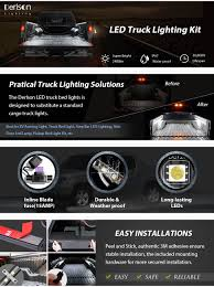 amazon com truck bed rail lights derlson truck bed lighting kit