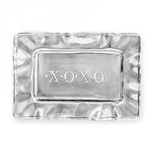 engraved tray something rectangular engraved tray xoxo