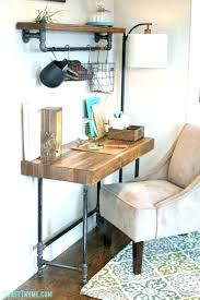 pipe desk with shelves industrial corner desk viibez co