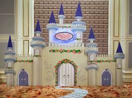 castle backdrop die cut foamboard backdrop ivory castle 2 princess standees 12