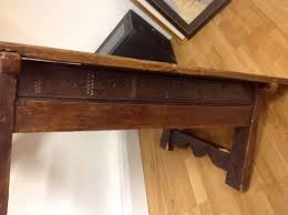 Sofa Table Height A 17th Century Spanish Walnut Table Unusually Reduced To Sofa